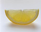 Half a slice of lemon