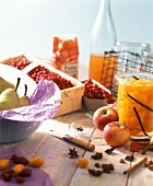 Assorted Fruits for Preserving