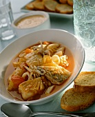 Fish stew (with fish and seafood)