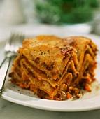 Lasagne al forno (baked lasagne), Emilia-Romagna, Italy