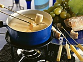 Fonduta (cheese fondue), Piedmont, Italy