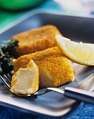 Cheese croquettes (breaded Emmental, Gruyere)