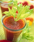Tomato and vegetable drink