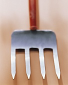 A compost fork