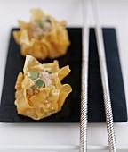 Dim sum-style Pork dumplings