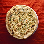 Pizza bread with rosemary