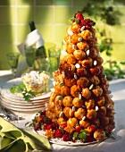 French wedding cake (Choux a la crème)