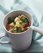 Vegetarian pea stew
