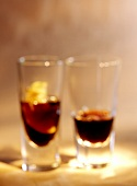 Averna and Ramazzotti in glasses