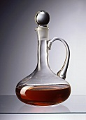 Vinegar in carafe