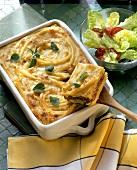 Baked macaroni dish