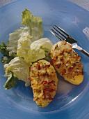 Caraway potato gratin