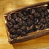 Prunes (Pruneaux d'Agen) in wooden box