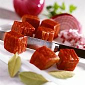 Gulaschfleisch vom Rind