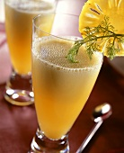 Ananas-Fenchel-Cocktail