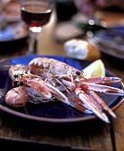 Barbecued scampi