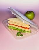 Tramezzini in sandwich box