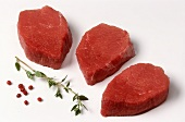 Veal medallions