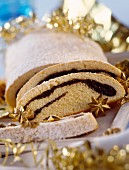 Poppy seed stollen for Christmas