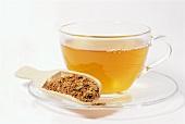 Quebracho bark tea and bark (Aspidosperma quebracho)