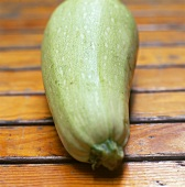 Pale-green giant courgette