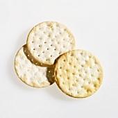 Three large crackers
