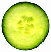 Slice of cucumber