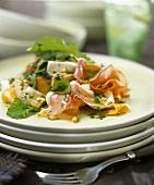 Artichoke salad with Parma ham