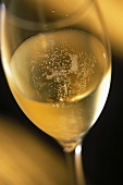 A glass of Dom Perignon Epernay