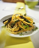 Linguine agli asparagi verdi (Linguine with green asparagus)