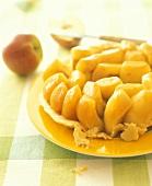 Turned-out apple tart (Tarte tatin)