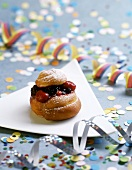 Doughnuts with berry filling