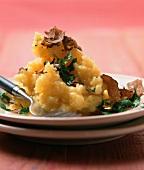 Truffled mashed potato