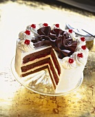 Black Forest Gateau, Piece cut