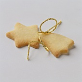 Star biscuits in sweet pastry