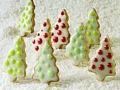 Fir tree biscuits