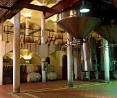 Modern wine production at Cordoba Winery, Stellenbosch