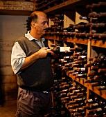 Beyers Truter, wine grower from Kanonkop Winery, Stellenbosch