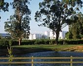 Wolf Blass' modern winery, Barossa Valley, Australia