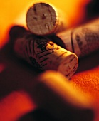 Various wine corks