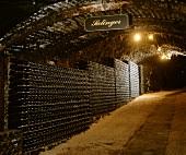 Wine stored in vaulted cellar, Seppelt, Victoria, Australia