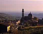 The village of Marano di Valpolicella, Veneto, Italy