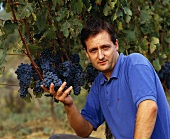 Tibor Gál, one of Hungary's  best known winemakers, Eger, Hung.