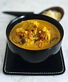 Chicken Korma (chicken in Indian curry sauce) 1