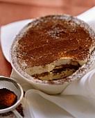 Tiramisù (layered mascarpone and coffee dessert)