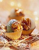 Noci di Merano (walnuts with caramel & marzipan stuffing)