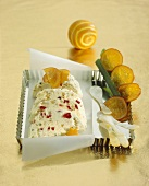 Cassata (Semi-frozen dessert with candied fruit, Italy)