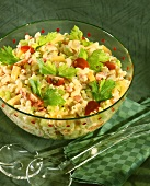 """Hawaiian"" pasta salad"