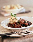 Kaiser's goulash (Austrian veal goulash with capers)