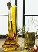 Olive and herb oil